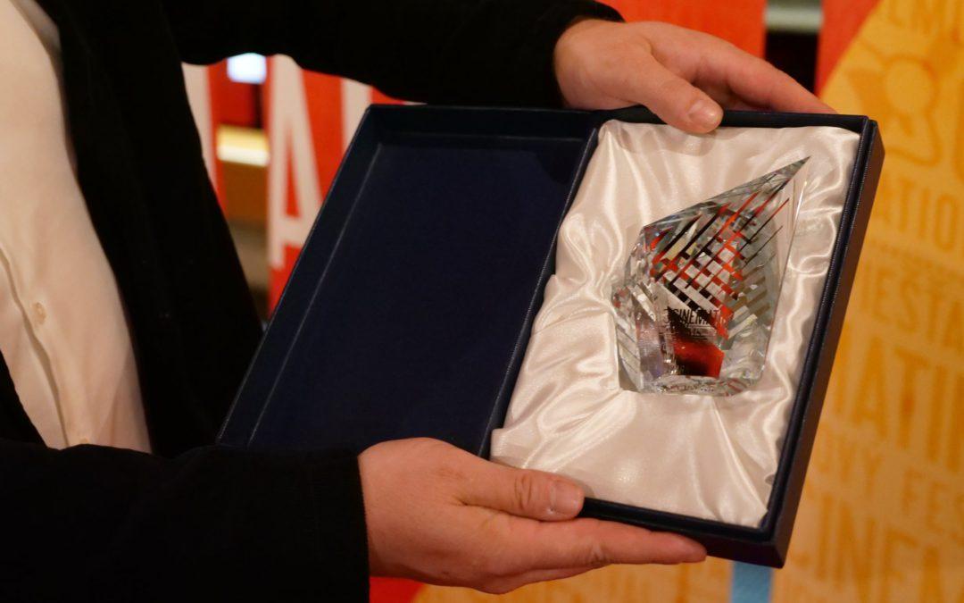 Ocenenie fimu Volanie na MFF Cinematik