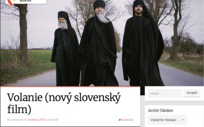 O filme píšu na zasvatenyzivot.sk